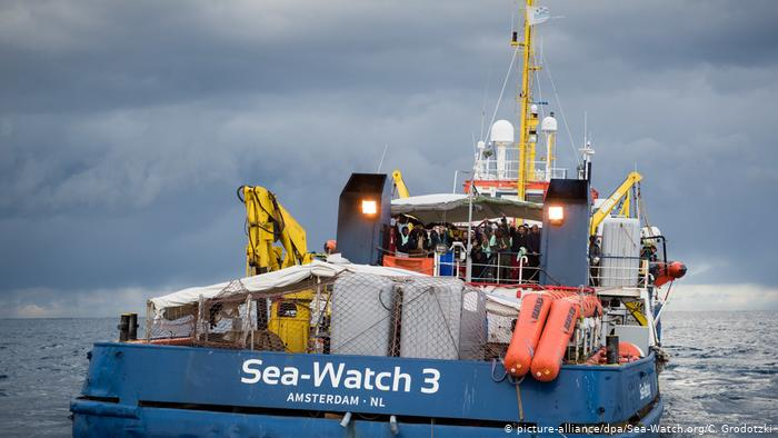 Sea Watch 3 303 - Solidaridad con él Sea Watch 3